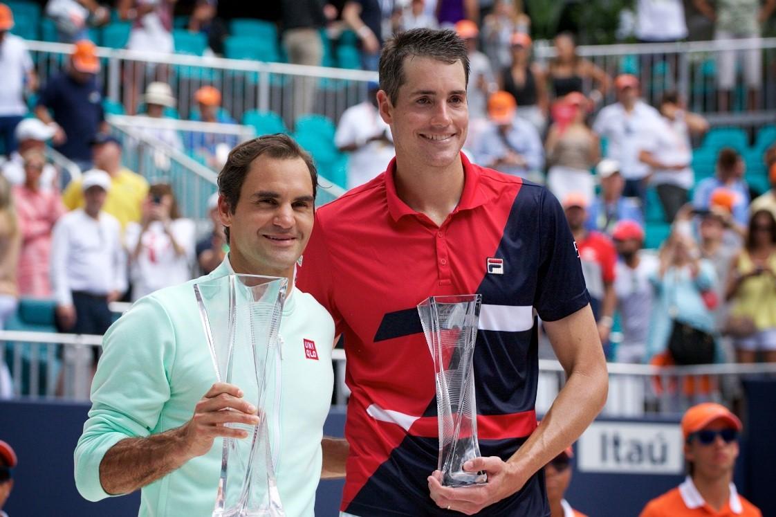 Federer Isner
