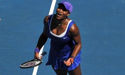 Serena 2012 Aussie
