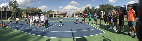 Tennis Legends and John Newcombe Tennis Ranch pros