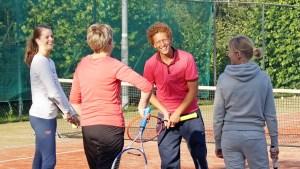 Najaarstennisles TC Zwaagwesteinde 2018 Tennisschool Lucardie