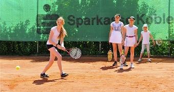 Tenniscamp war voller Erfolg