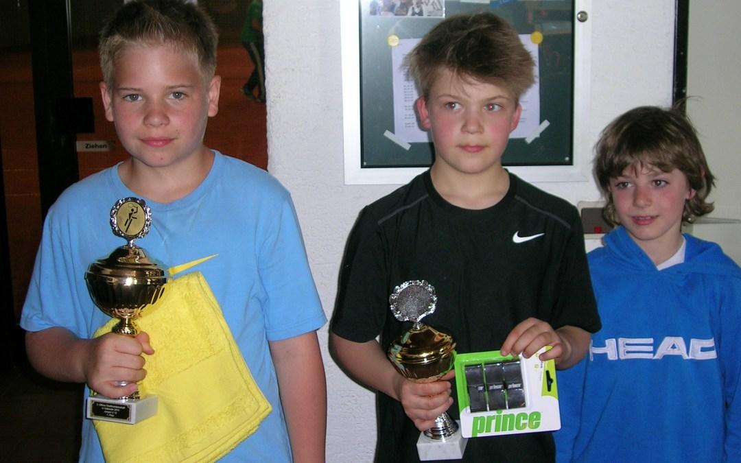 Ergebnisse | 3. Offene Jugend-Stadtmeisterschaften in Vallendar