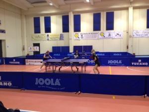 Il match Conciauro - Bagina