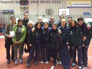 GRuppo vacanze Tennistavolo Norbello in gita a Bagnolo San Vito