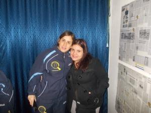 Marina Conciauro e Silvia Deligia, la prima impoegnata a Bagnolo, la seconda ad Alghero in D2 regionale