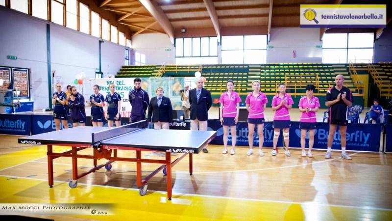 La presentazione delle squadre (Max Mocci Fotografia)