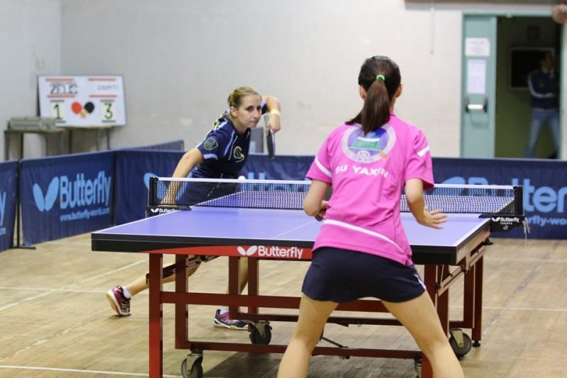 L'ultimo match tra Papadaki e Su Yaxin (Foto Gianluca Piu)