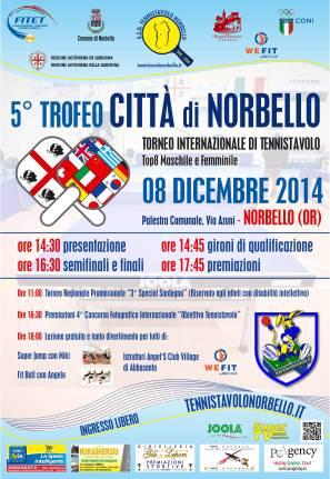 Locandina 5° Trofeo Città di Norbello - 08 Dic. 2014 Web