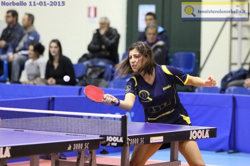 Eleonora Trudu Tennistavolo Norbello (Foto Gianluca Piu)