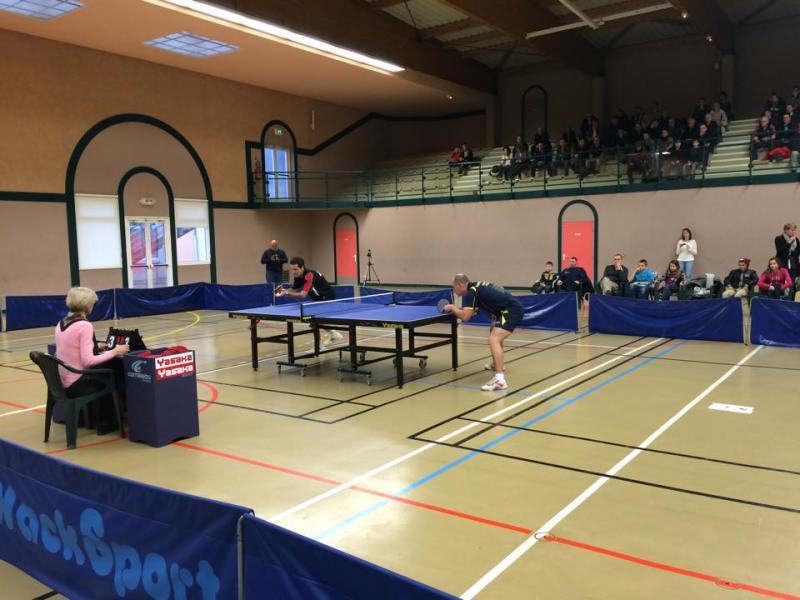 Il match iniziale tra Poncelet e Kuznetsov