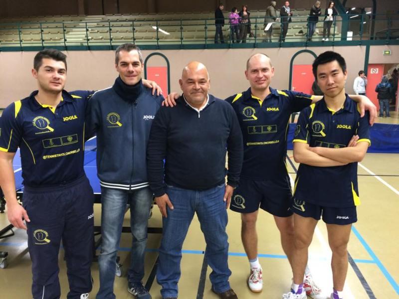 La Comitiva del Tennistavolo Norbello  In Francia