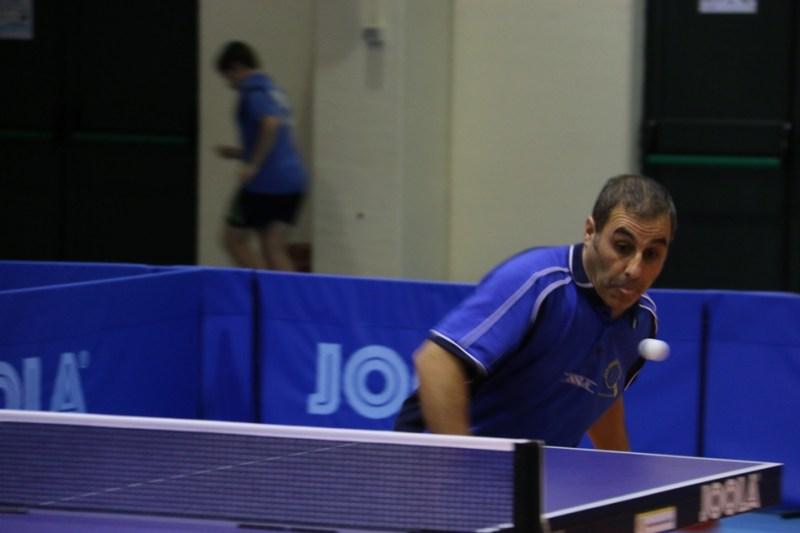 Giuseppe Mele del Tennistavolo Norbello (Foto Gianluca Piu)