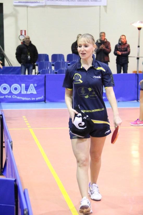 Irina Bagina Tennistavolo Norbello