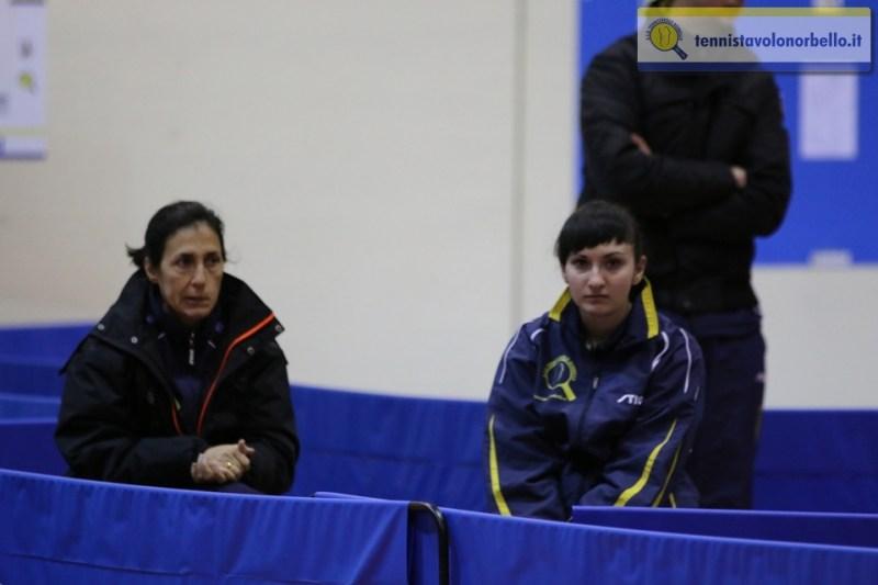 a dx Ganna Farladanska con Maria Assunta