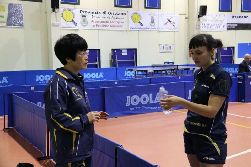 Wei Jian si confronta con Ganna (Foto Gianluca Piu)