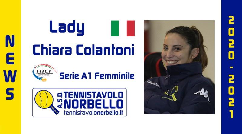 La conferma e le aspirazioni di Chiara Colantoni