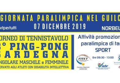 4° Giornata Paralimpica nel Guilcer – Norbello 07-12-2019