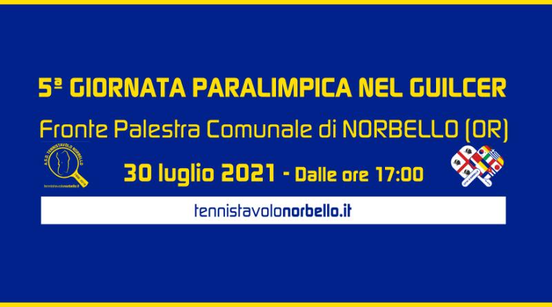 5° Giornata Paralimpica nel Guilcer – Norbello 30 luglio 2021