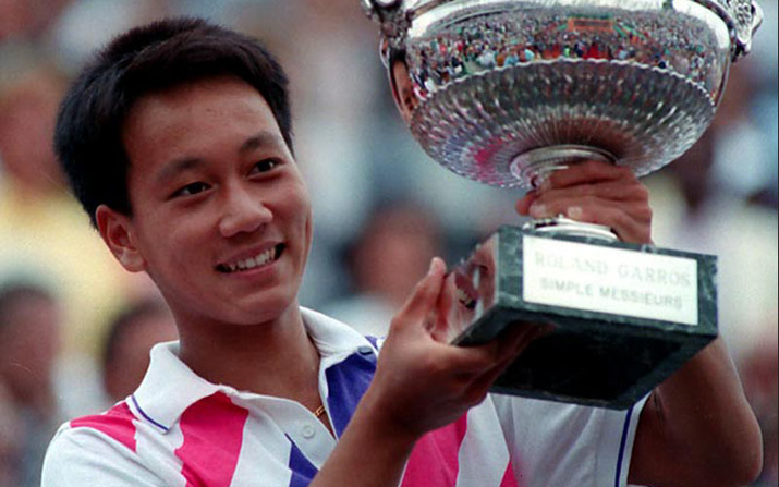 Image result for michael chang images