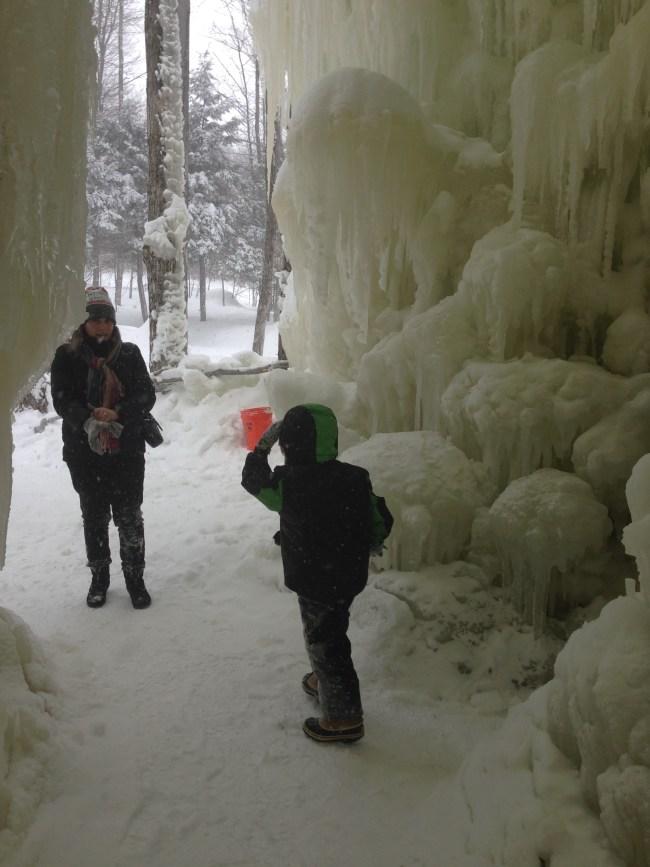 Stratton Ice Castle Arch