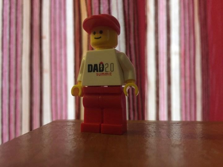 Exclusive Lego Minifig Dad 2.0