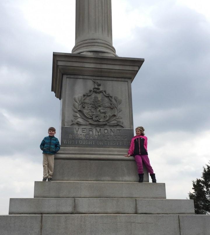 Vermont Monument at Gettysburg