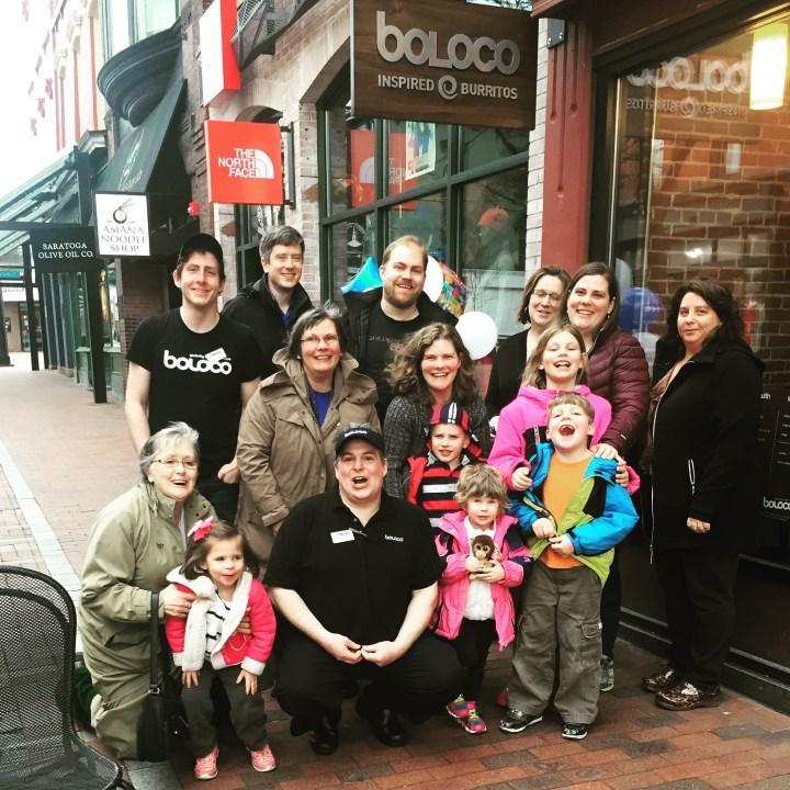 Make-a-Wish Boloco celebration