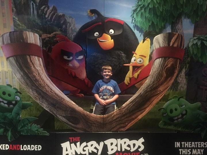 Edward at Angry Birds