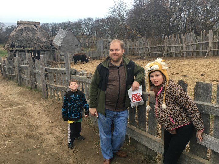 Pilgrims and Cows