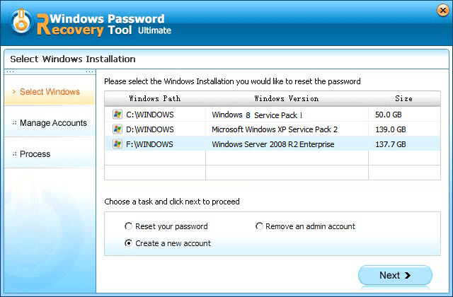 how to create a new work domain account windows 7