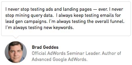 Brad Geddes Quote