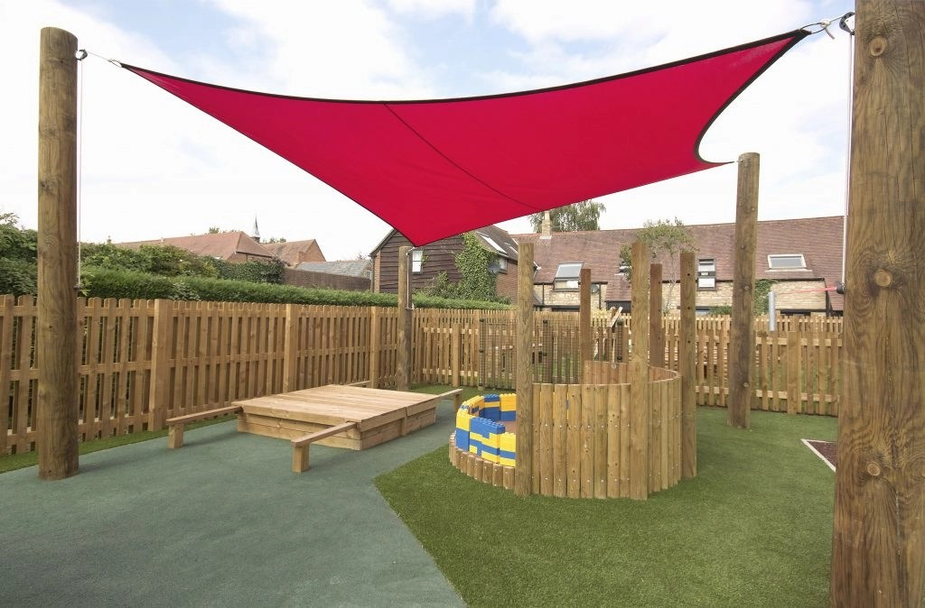 bespoke shade sail for summerfield school tensile Round Shade Sail id=40650