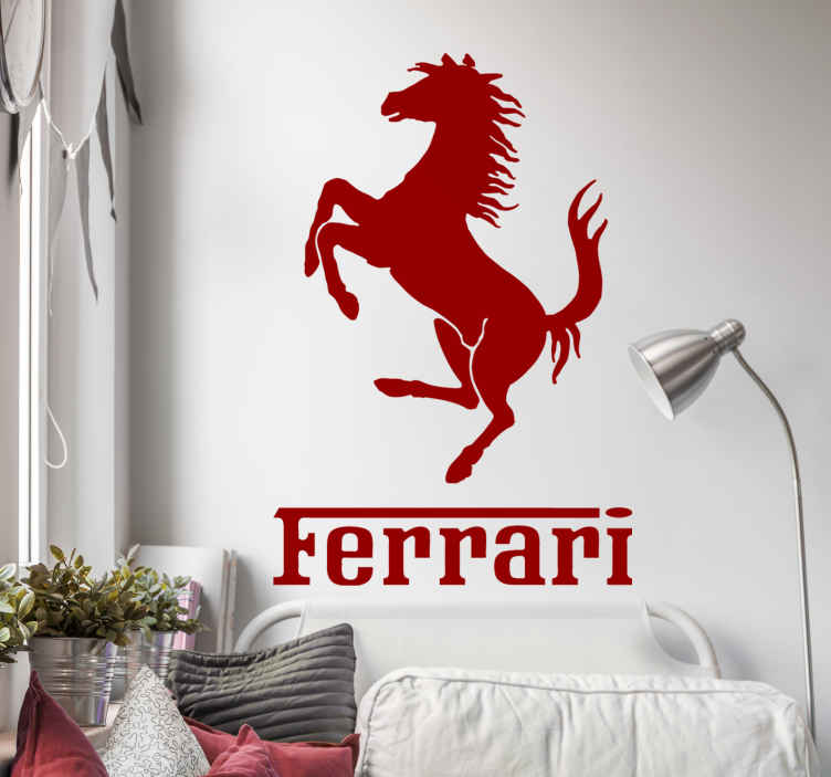 Ferrari Horse Sticker TenStickers