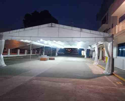 40ft x 80ft a shape tent
