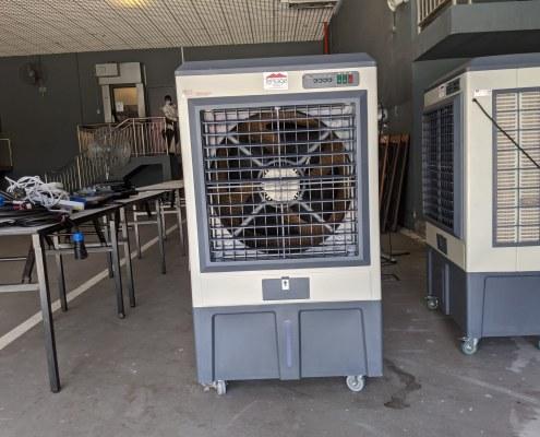 15000m3/h air cooler