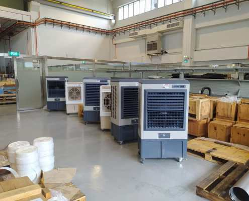 air cooler rental for warehouse
