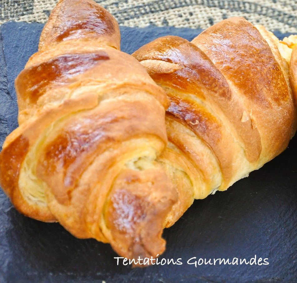 Mes croissants au beurre recette 750g