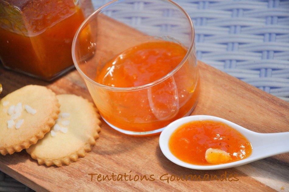 Ma recette de confiture d'abricots vanille et romarin