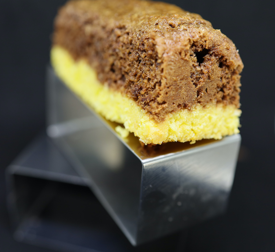 La barre de chocolat doux coco une recette de Philippe Conticini