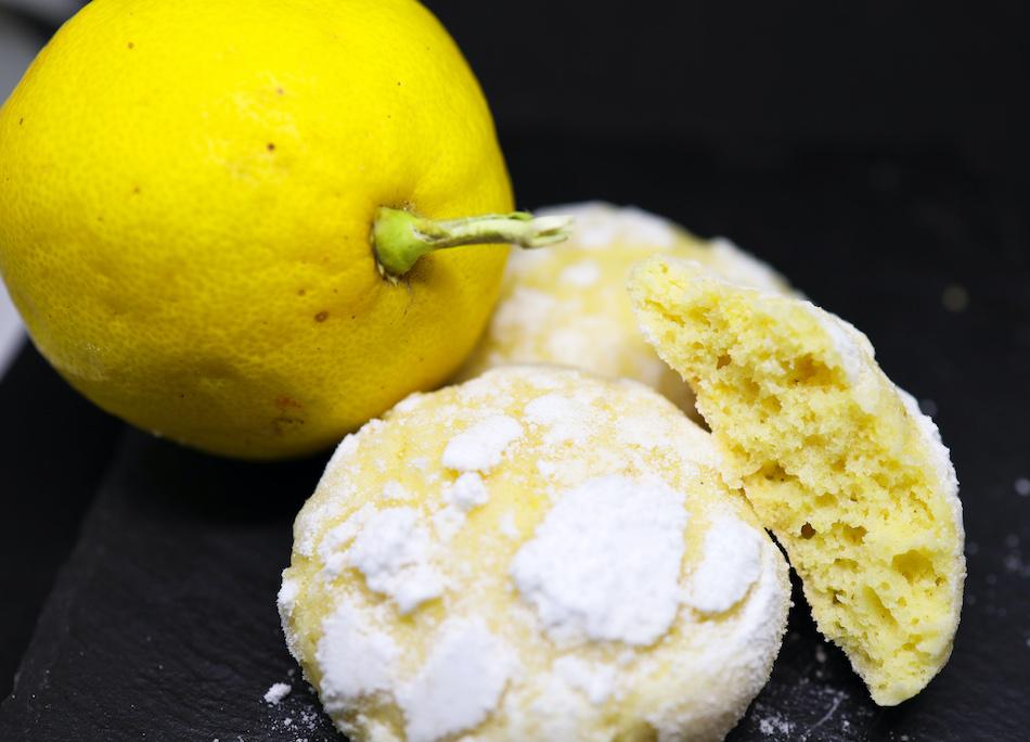 Mes crinkles au citron bio