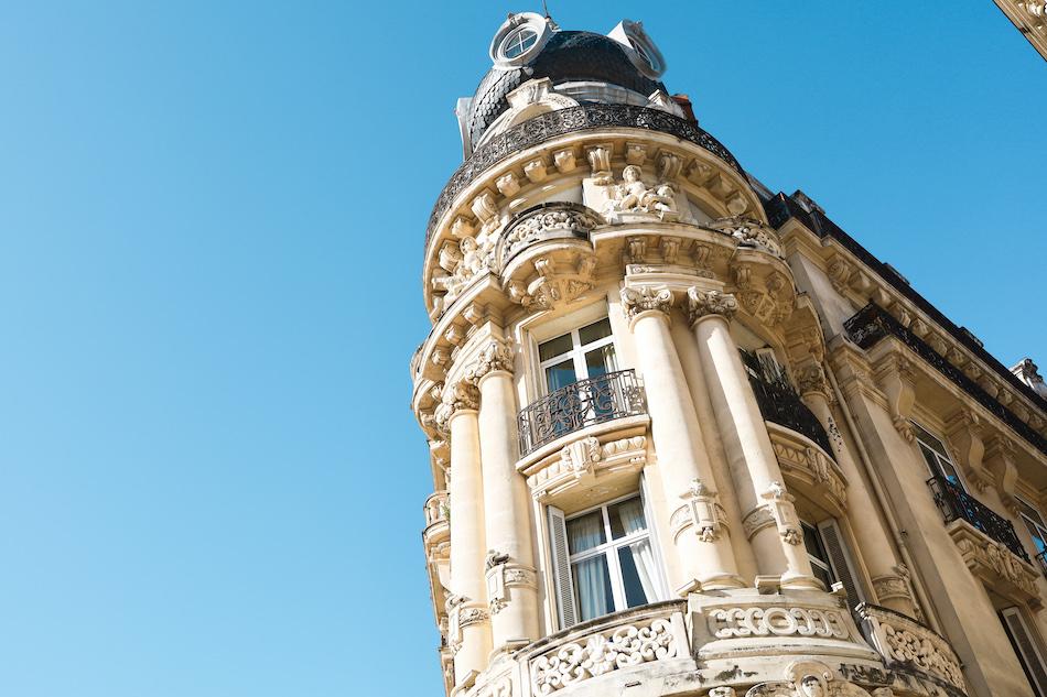 Le scaphandrier immeuble typique de Montpellier