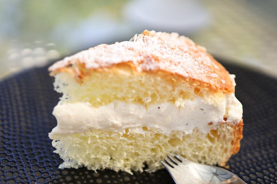 Portion de ma tarte tropézienne crème diplomate
