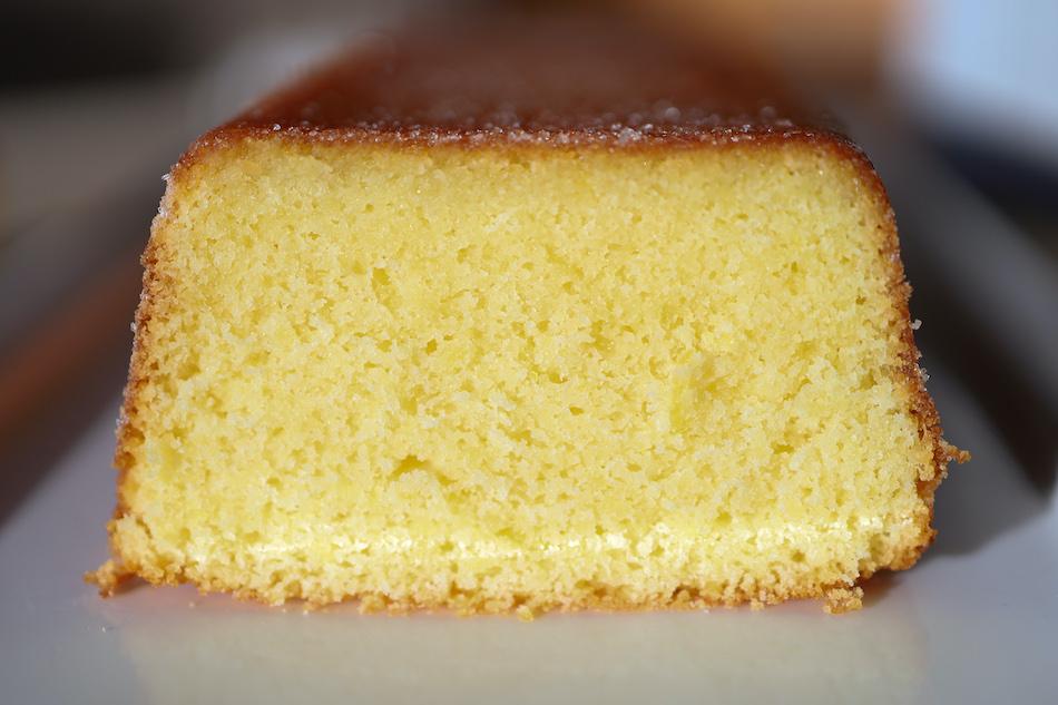 La partt de cake au citron recette de La cuisine de Bernard