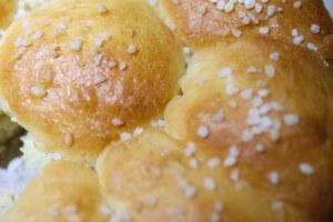 Brioche et sucre grain