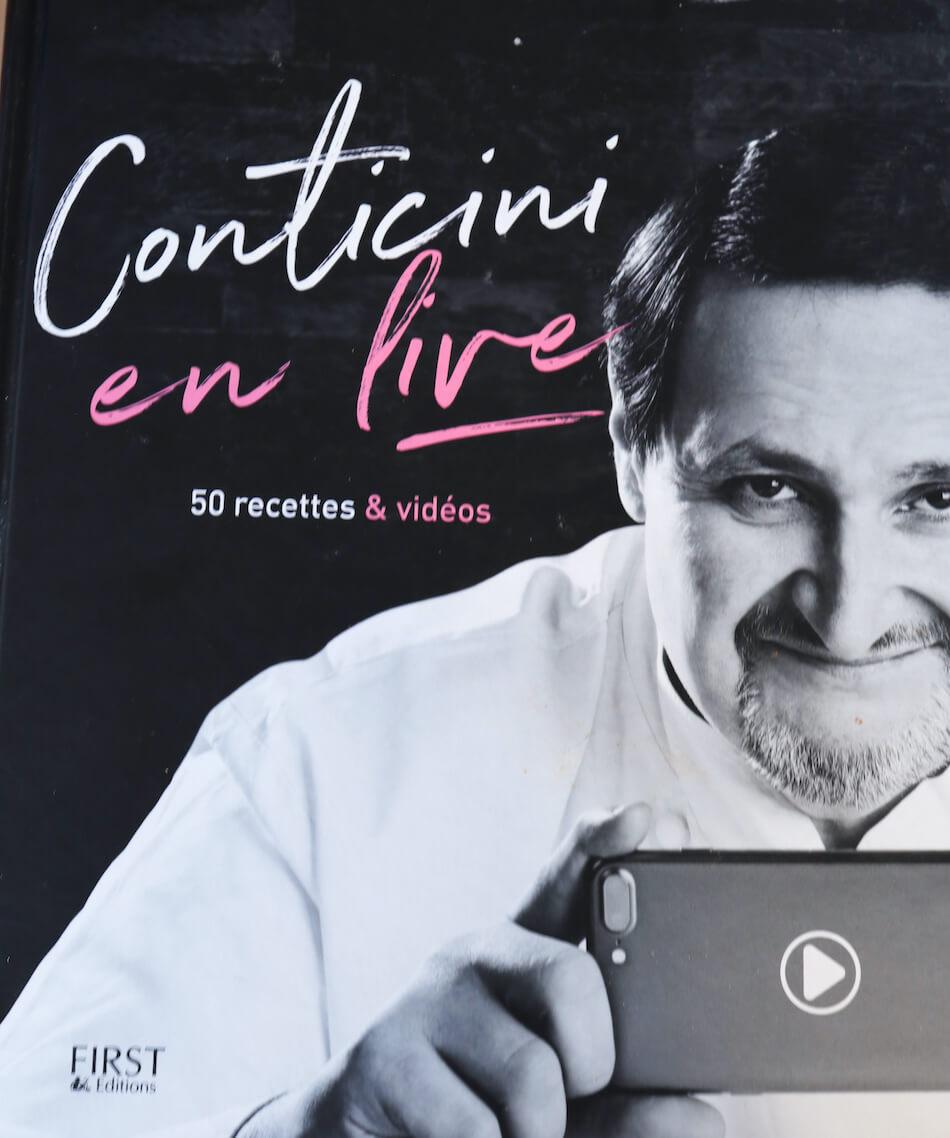 Le livre Conticini en live Facebook
