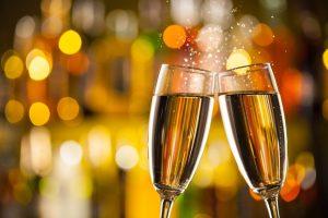 Les flûtes de champagne