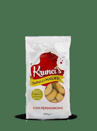 Linea Krunci's - Taralli pugliesi con Peperoncino