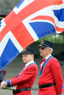 The Hyack anvil salute to the Queen is the only ceremony of its kind in the world. Photo by Mario Bartel