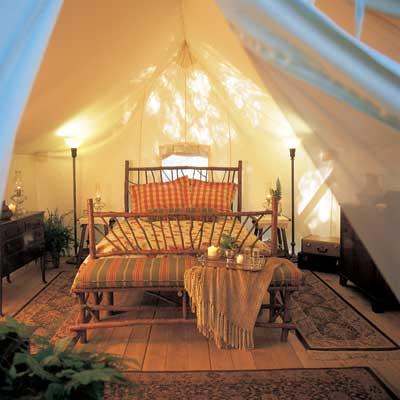 deluxe queen tent