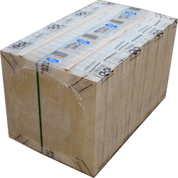 Horizontal stretch packaging item 1 - Isolation material
